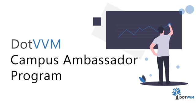 DotVVM Campus Ambassador Program